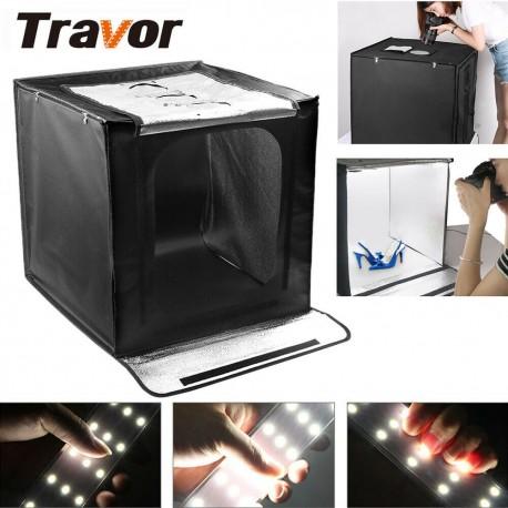 Sulankstoma foto dėžė su LED apšvietimu 60cm